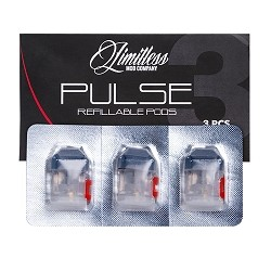 Limitless (LMC) Pulse Pod System Replacement Pods (3 Pieces)