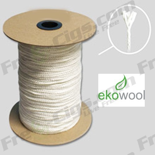 Silica Wick - Braided  (3 Feet - Ekowool)