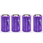 IMR 18350 Battery 3.7v 700 mAh Flat Top (Efest - 10.5AMP)