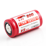 IMR 18350 Battery 3.7v 800 mAh Flat Top (Efest)