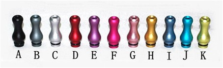 Aluminum Ming Drip Tip 510-901-808 (Anodized)
